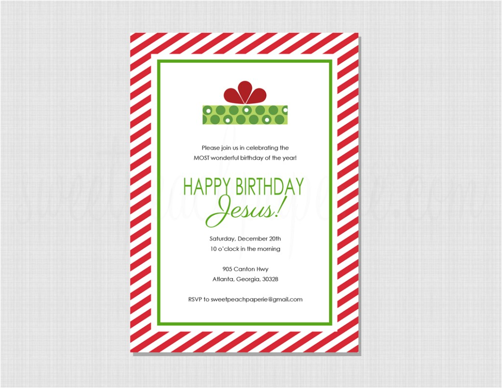 new happy birthday jesus printables
