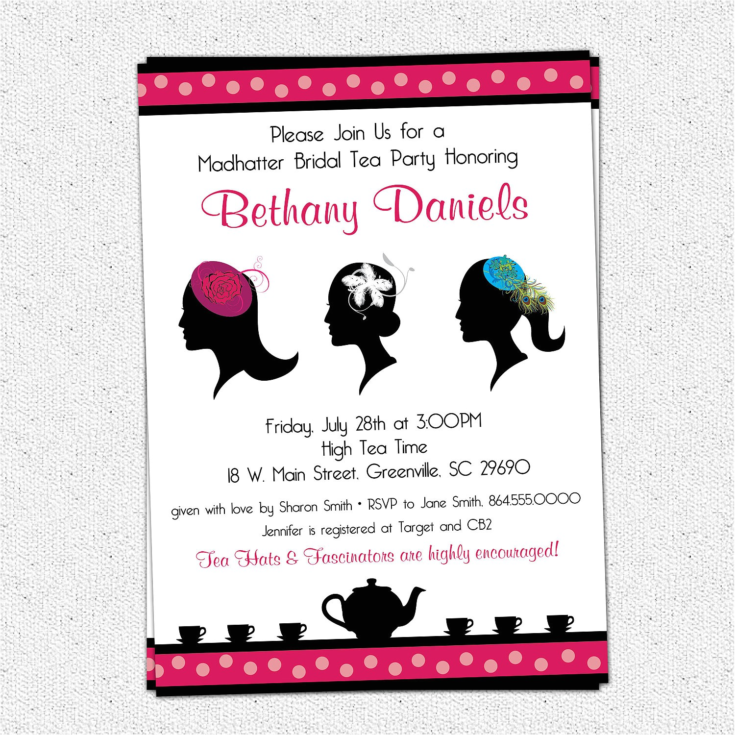 6809884 madhatter mad hatter tea party invitations fascinator hats royalty bridal