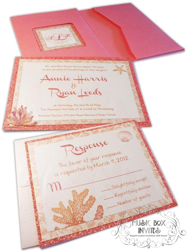musical invitations portfolio wedding party holida