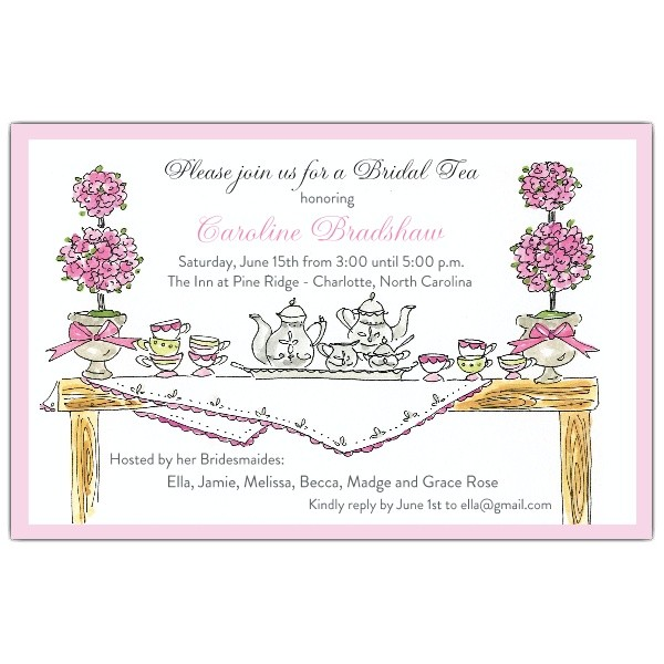 high tea invitations p 622 85 0008ev