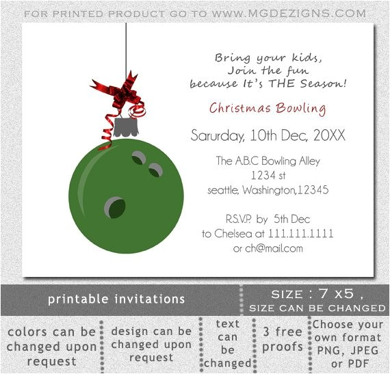 printable green bowling ball ornament