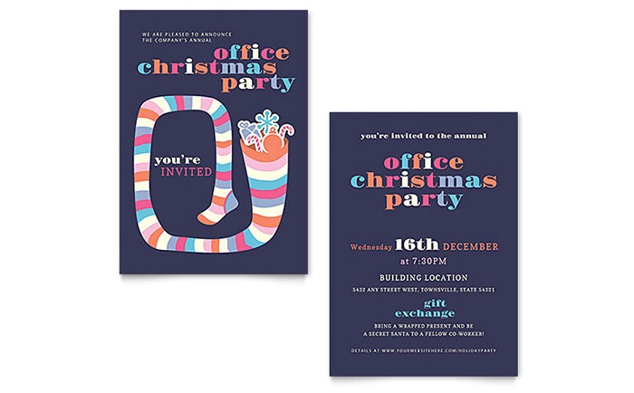 christmas party invitation templates xx1282701d