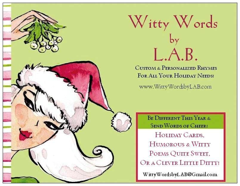christmas invitation poem