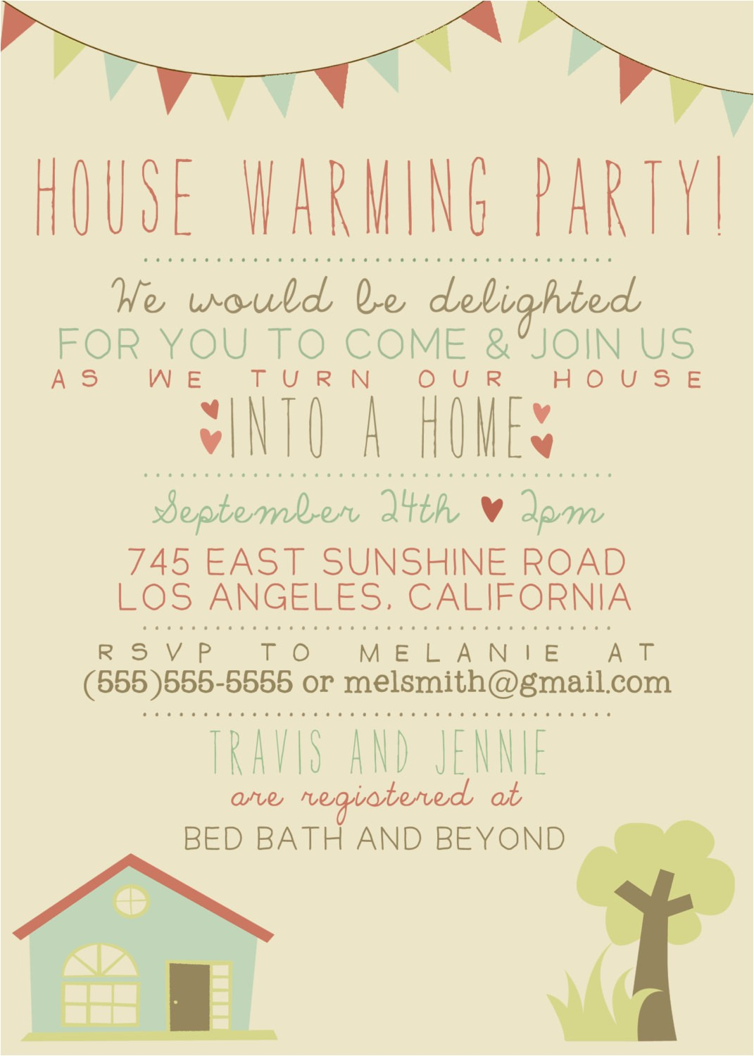 house warming party invitation printable custom diy