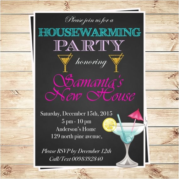 housewarming invitation printable cocktail invitation housewarming