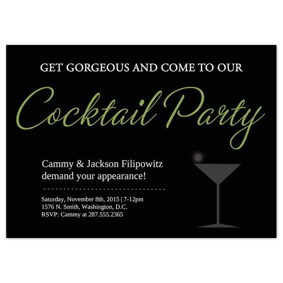 party invitation cards housewarming cocktail party invitations