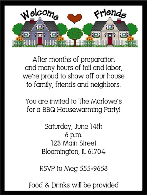housewarming party invite quotes