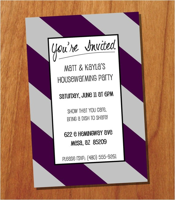 housewarming party invitation wording for gifts