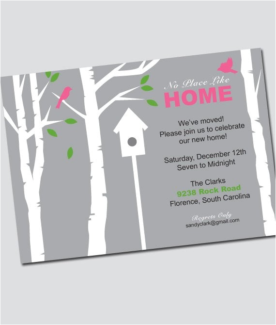 how to write invitation for housewarming party for gift cards