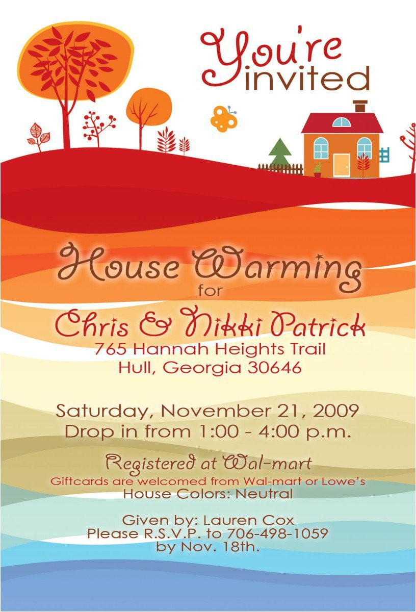 housewarming party invitations free online