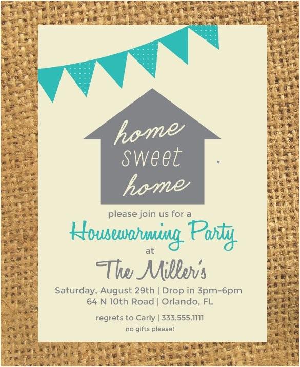 sample housewarming invitation