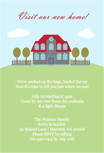 housewarming invitations template