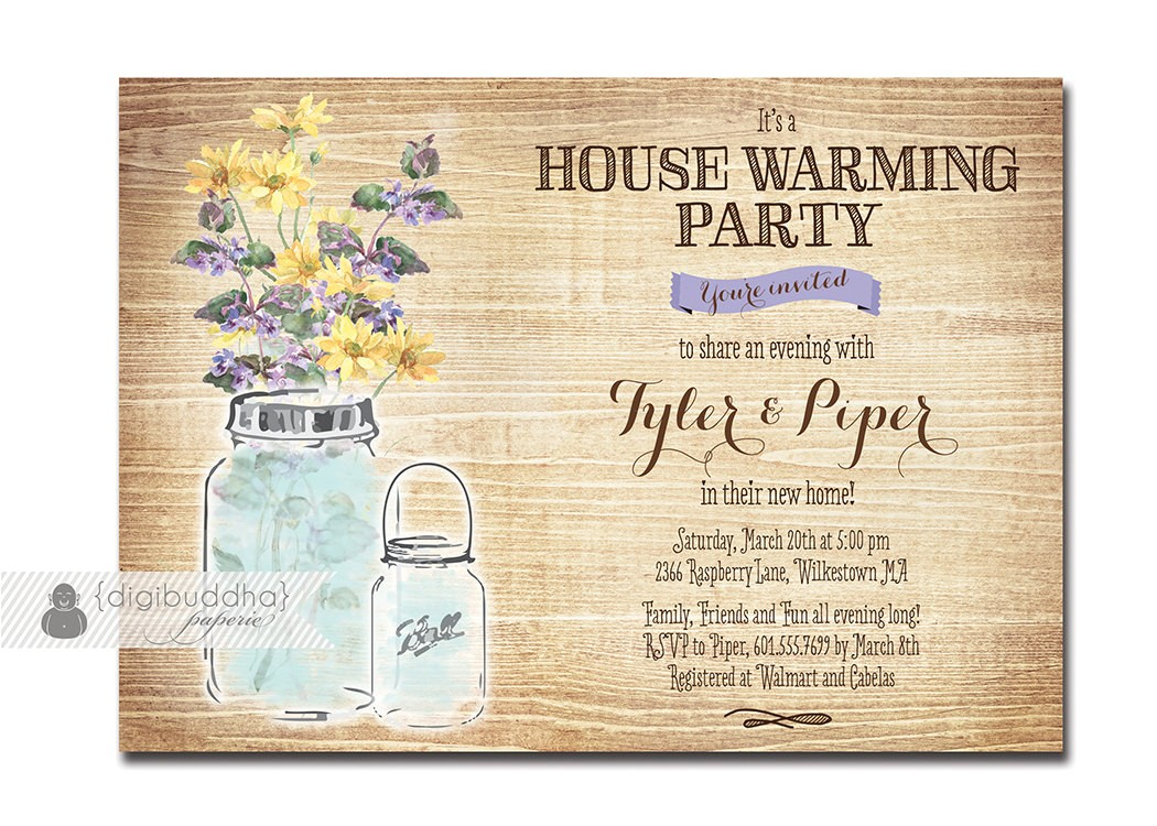 housewarming party invites template
