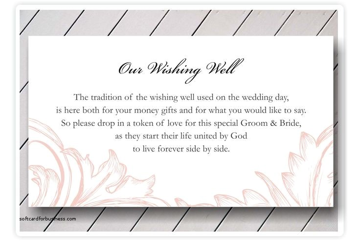 how to ask for money on a wedding invitation