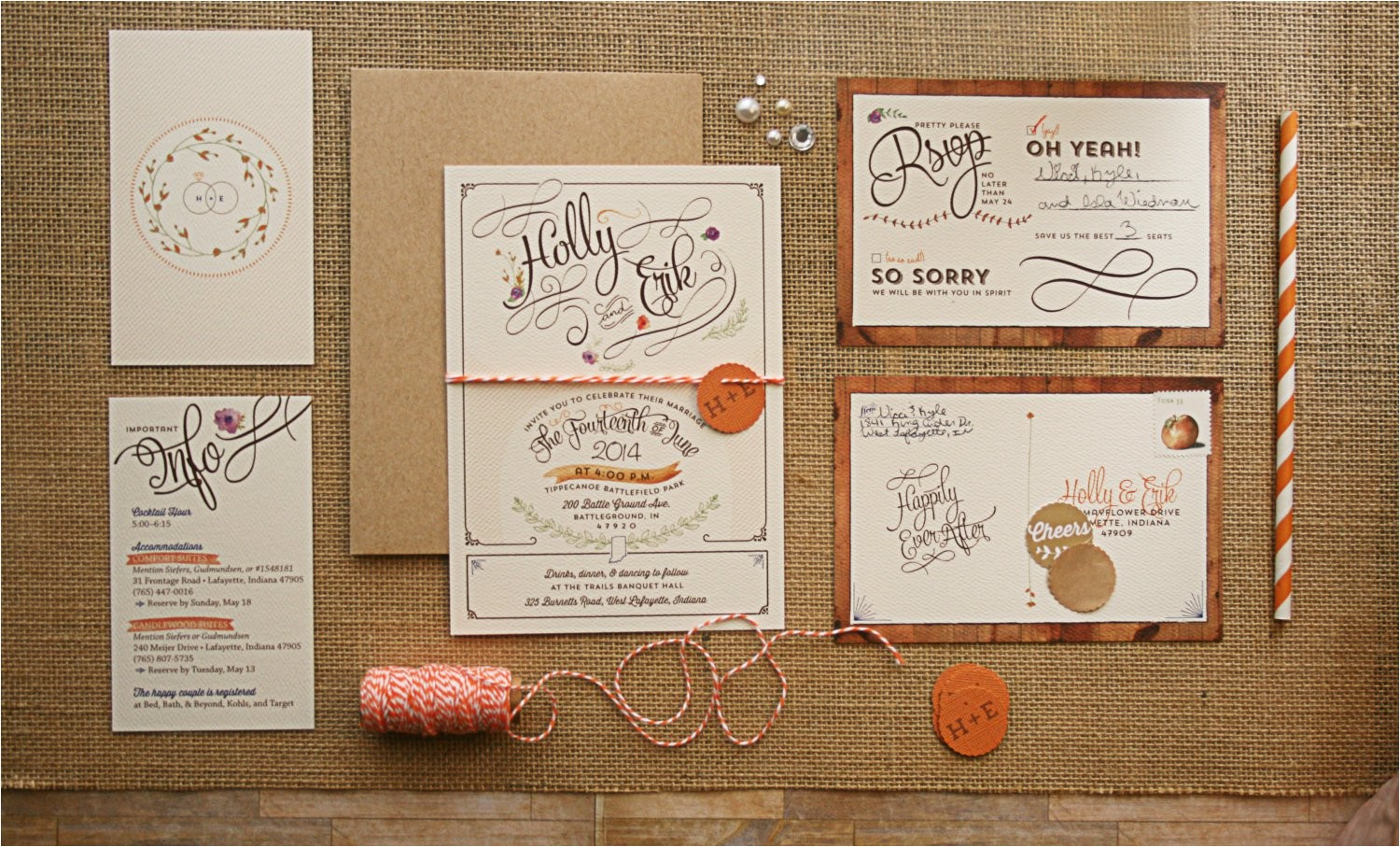 how to package wedding invitations