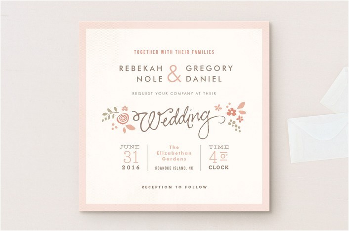 wedding invitation wording that wont make you barf