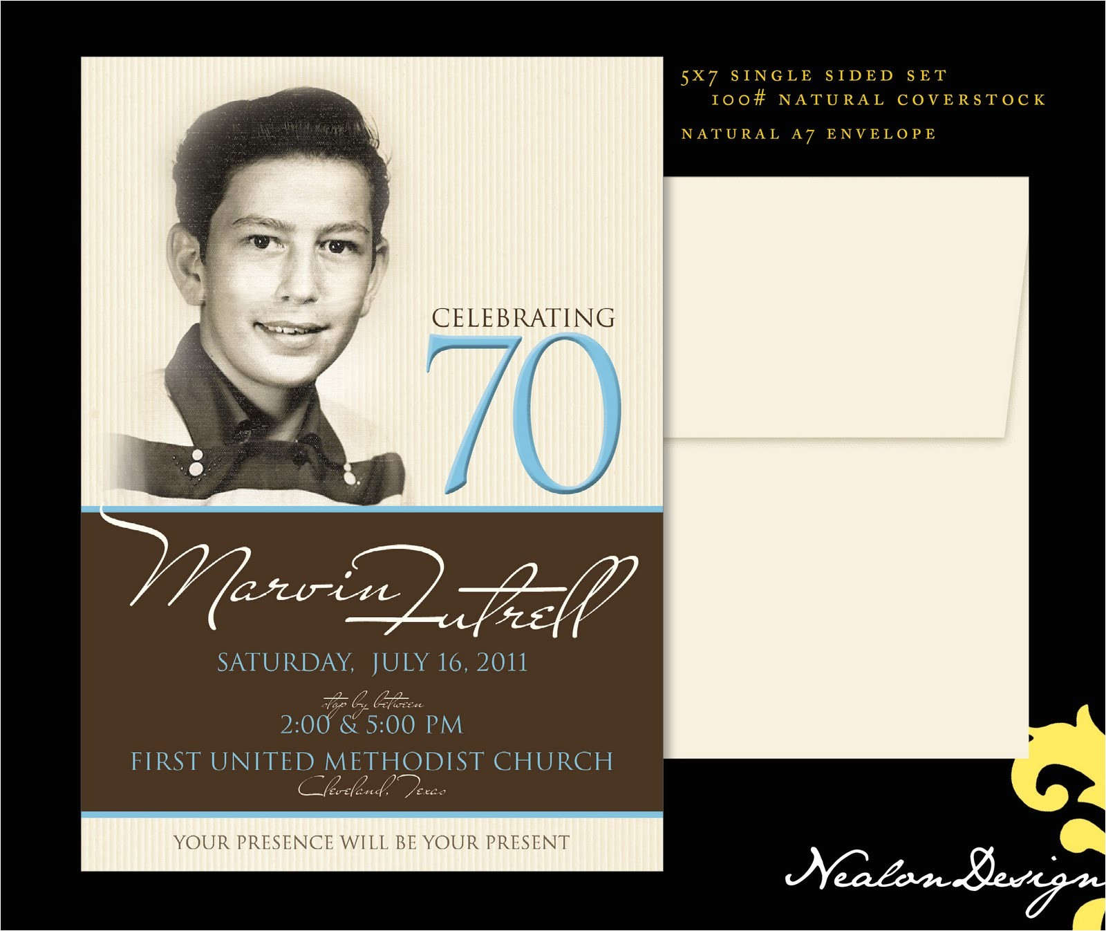 quotes for 70th birthday invite