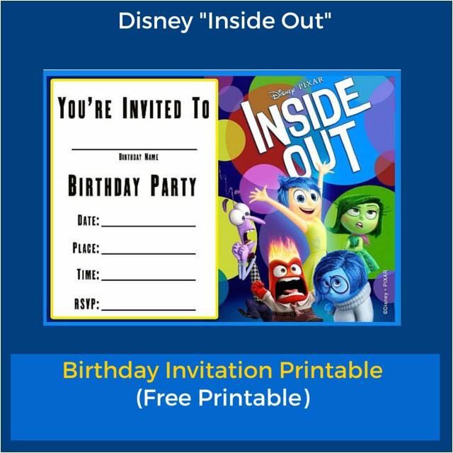 inside out birthday invitation templates