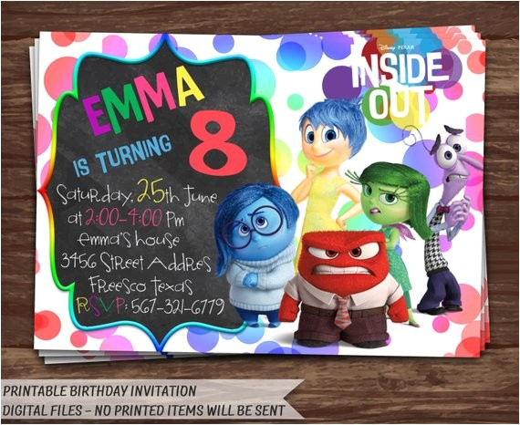 inside out invitation inside out