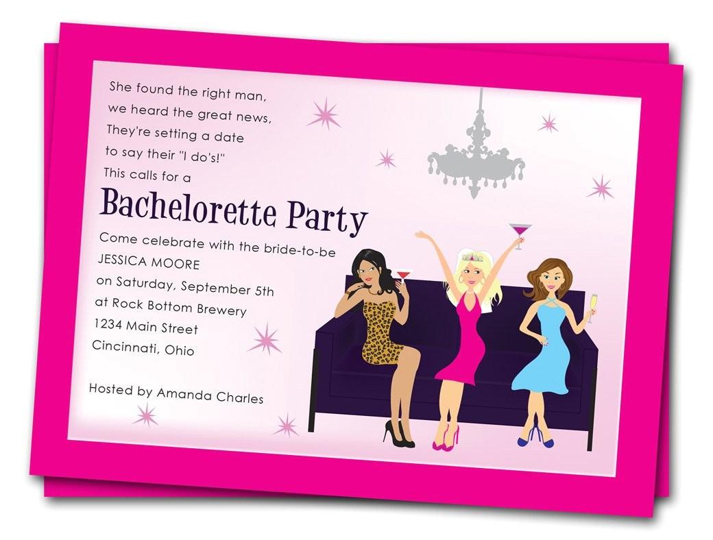 printable bachelorette party invitations