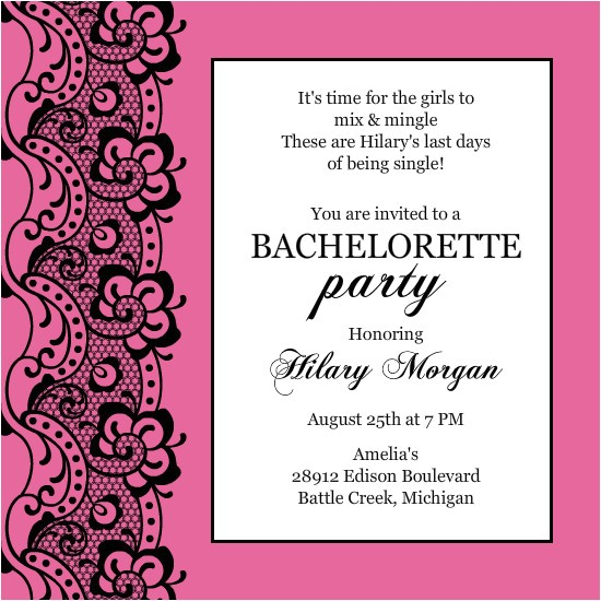quotes for bachelorette party invitations