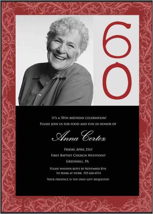 surprise 60th birthday party invitation wording ideas