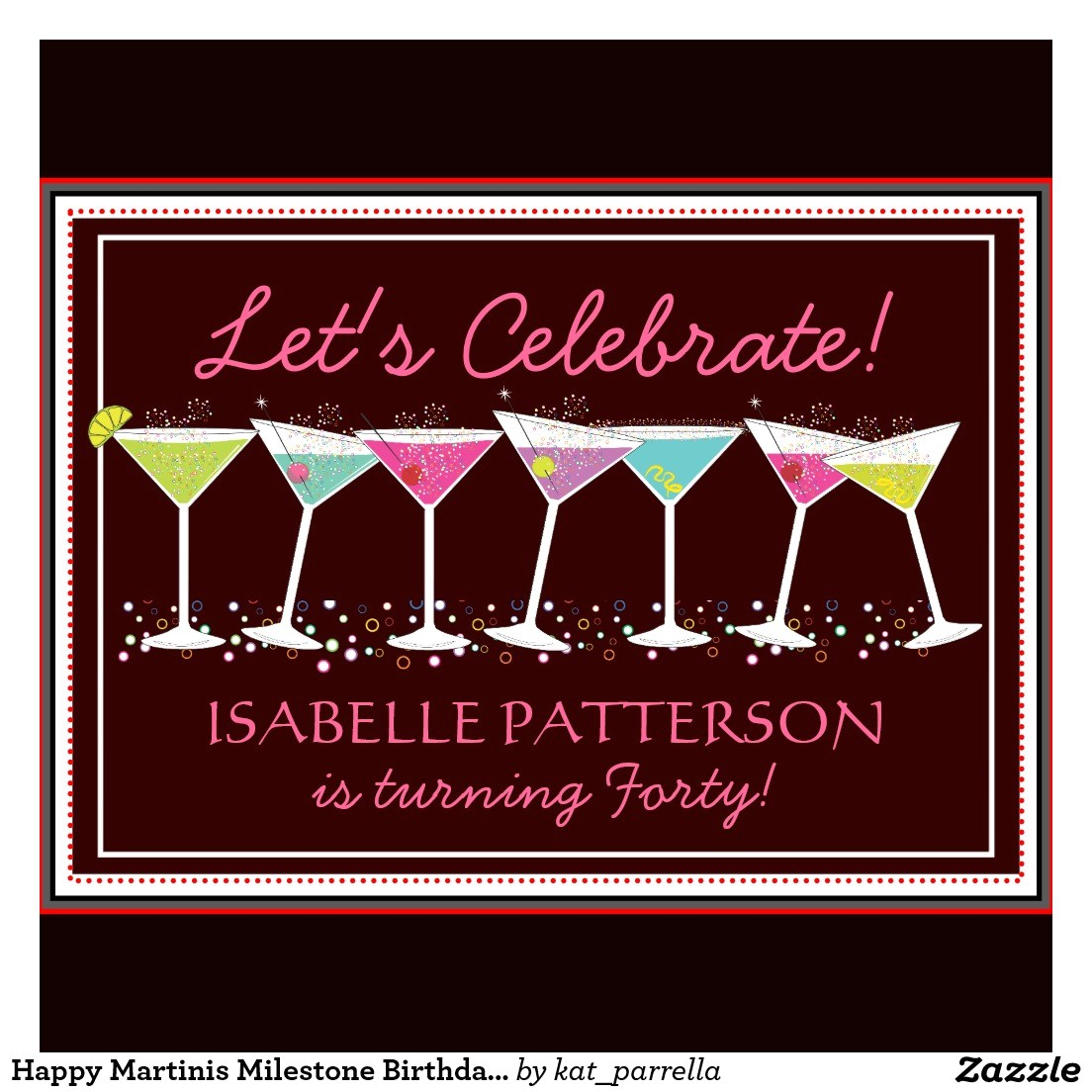 free example adult birthday party invitations