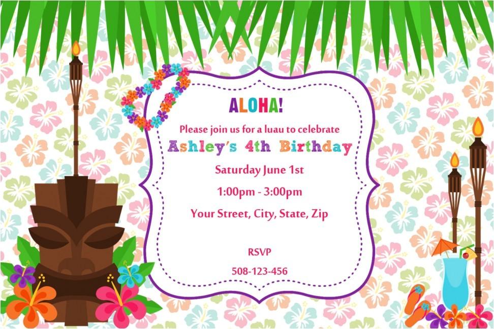 hawaiian birthday invitations for the invitations design of your inspiration birthday invitation templates party 15