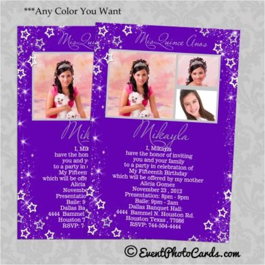 sweet 15 birthday invitations