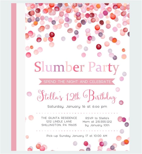sample party invitation