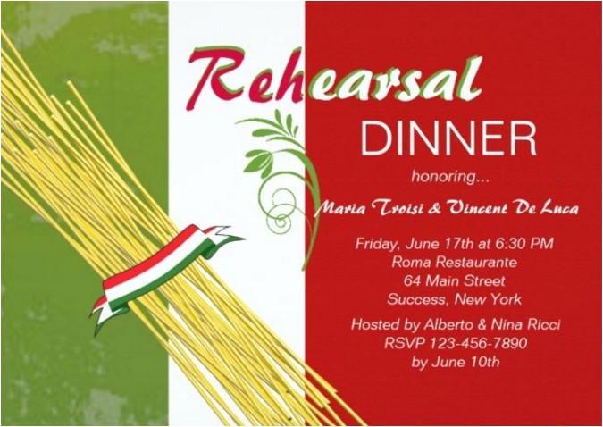 easy italian themed dinner party