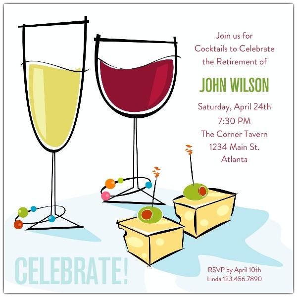 job promotion party invitation