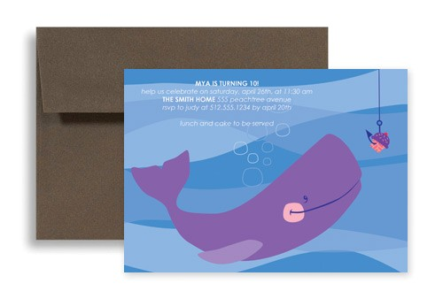 word template fishing lake beach birthday invitation design kid 1148