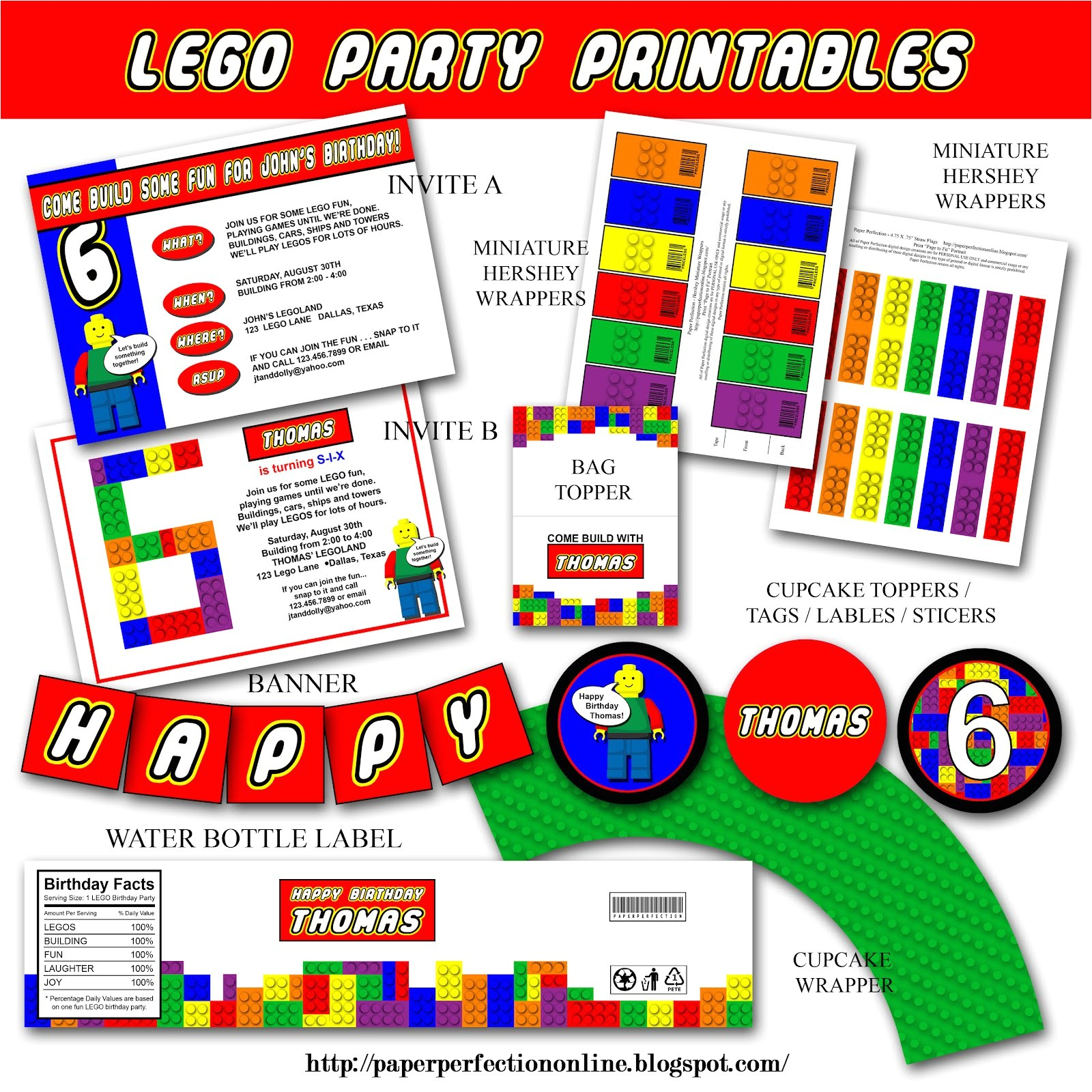 post lego birthday printables 267487