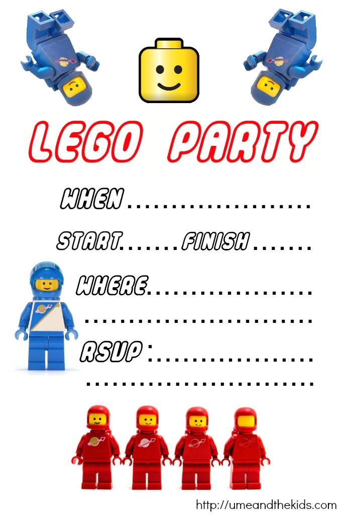 lego birthday party invitations printable