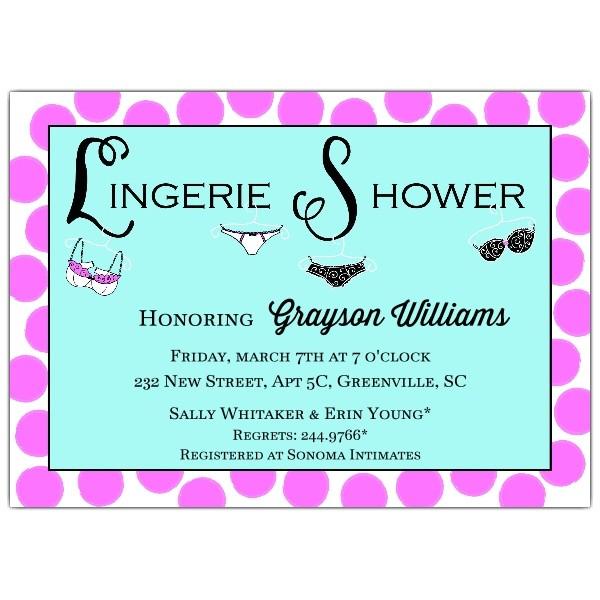 lingerie party invitation p 612 75 22618ijp