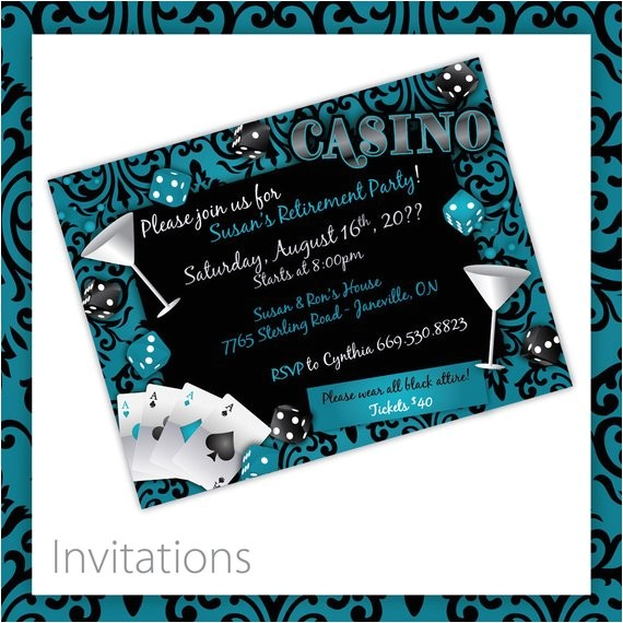casino party invitations casino lush casino