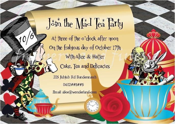 mad hatter tea party quotes