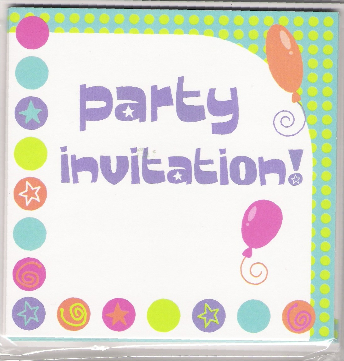 make own card party invitations inspired ideas ballon motive frame perfect sample white concrete form designing