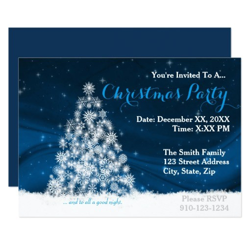 create your own christmas party invitation 256904017495699161