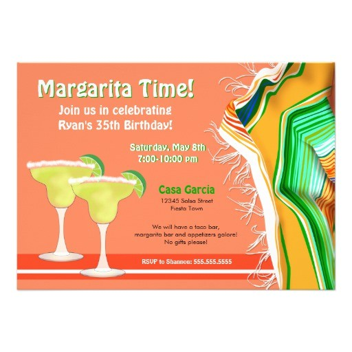 chic and contemporary margarita party invitation 161398943028696188