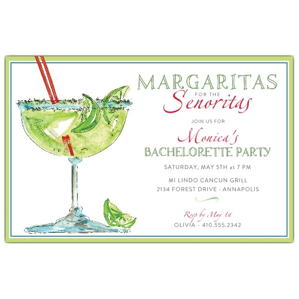 sparkling margarita mexican party invitations p 622 85 2351