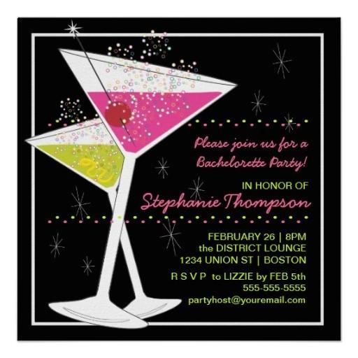 cocktail invites