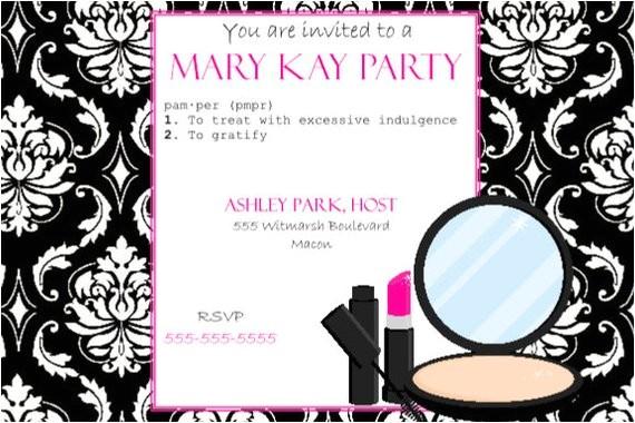 mary kay grand opening invitations templates