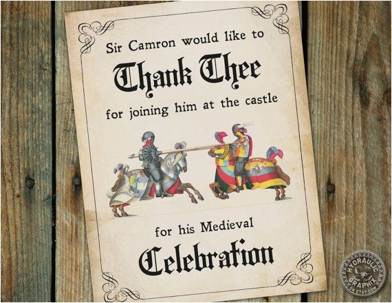medieval times birthday quotes