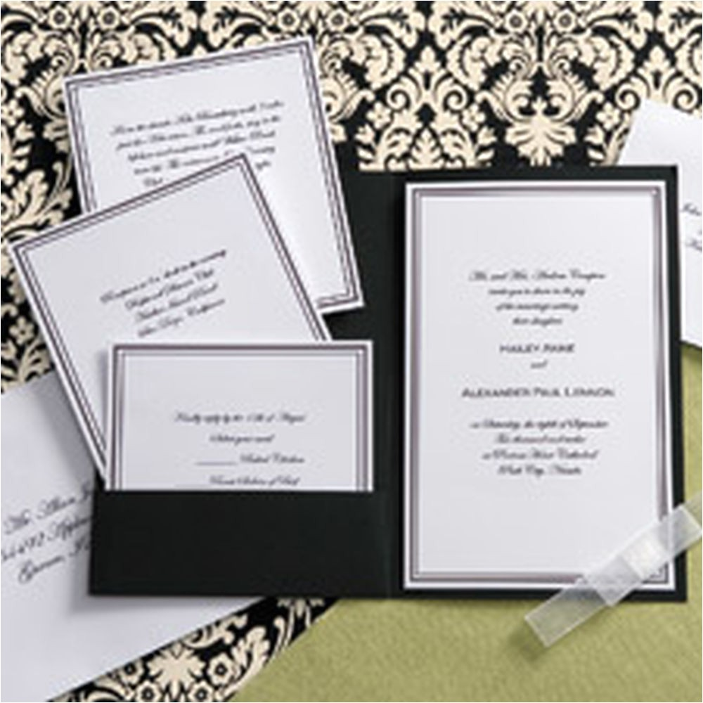wedding invitation kits amazon