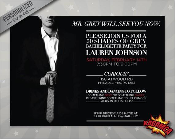 fifty shades of grey invitation party bachelorette birthday girl39s night movie premiere celebration invites printables 02