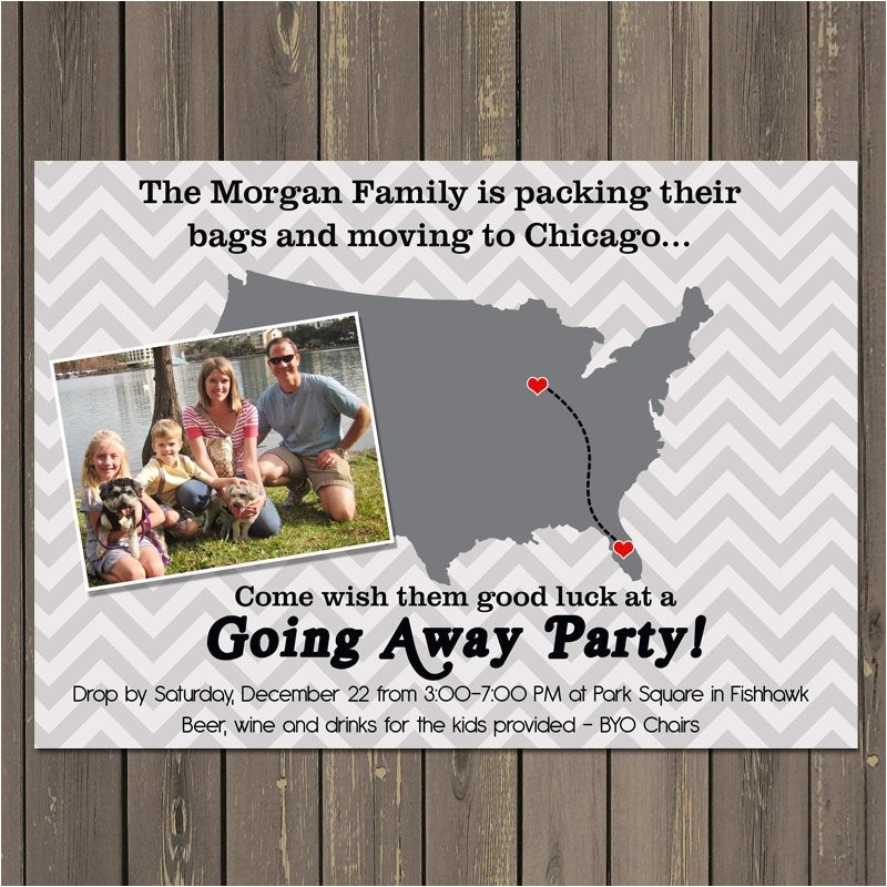 going away party invitation moving