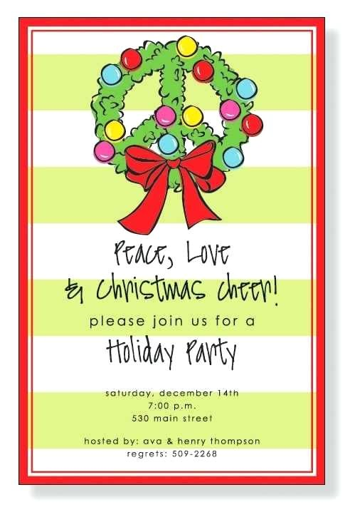 holiday open house invitations christmas open house invitations wording