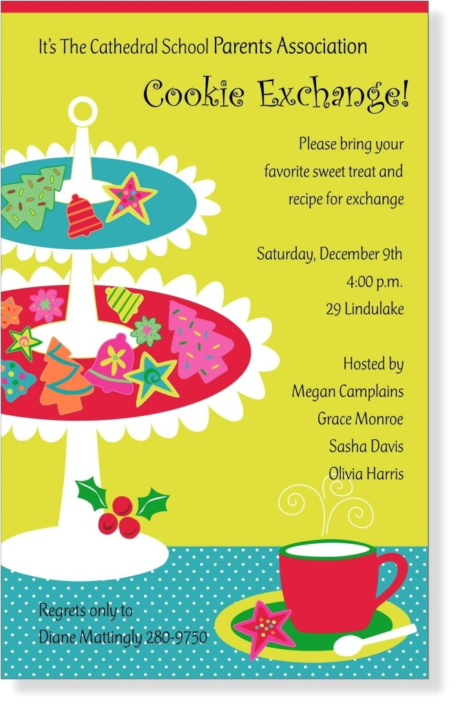 invitation wording for neighborhood party